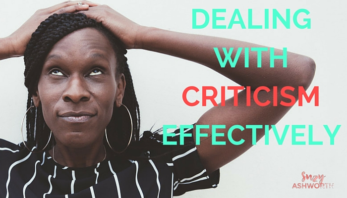 Dealing With Criticism Effectively