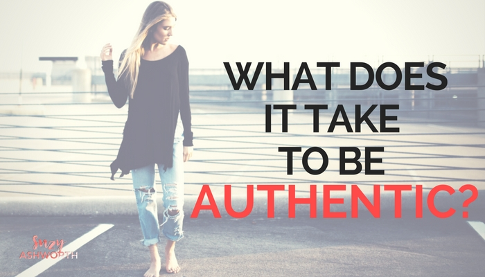 What does it take to be authentic?