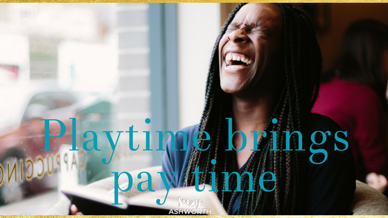 Playtime brings pay time