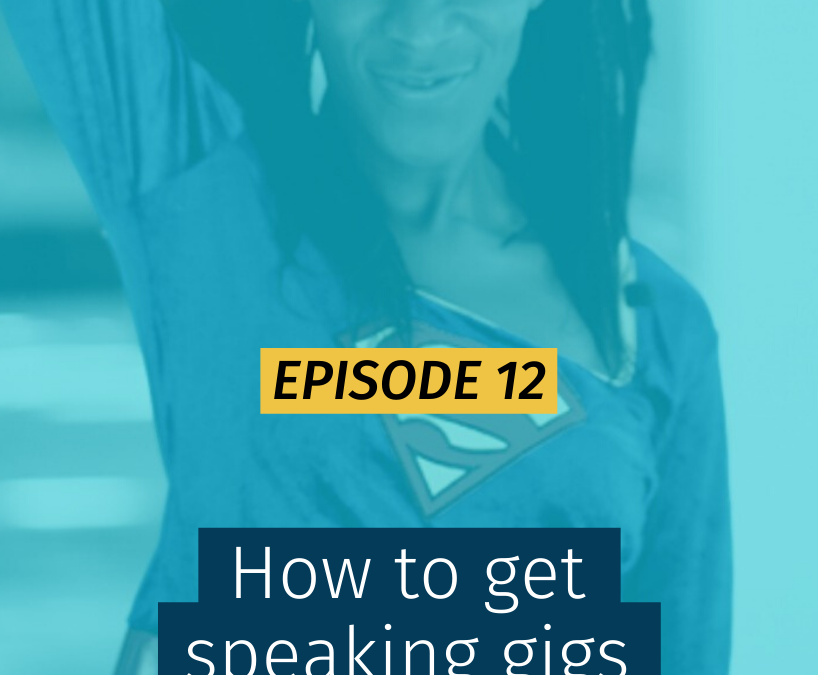 012 How to get speaking gigs