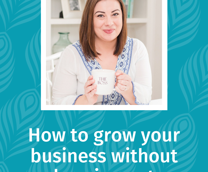 013 How to grow your business without burning out, with Racheal Cook