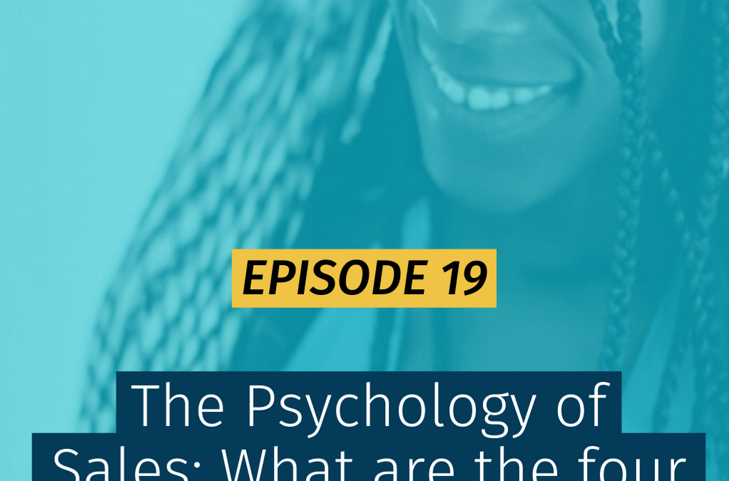 019 The Psychology of Sales: What are the four things that motivate a person to buy?