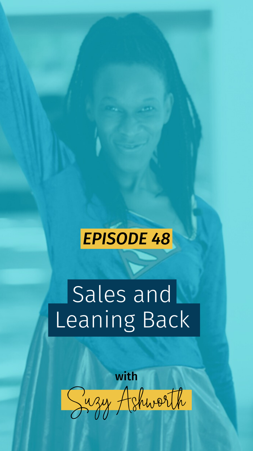 048 Sales and Leaning Back