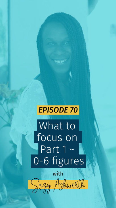 070 What to focus on ~ Part 1: 0-6 figures