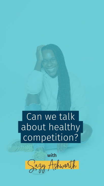 Can we talk about healthy competition?
