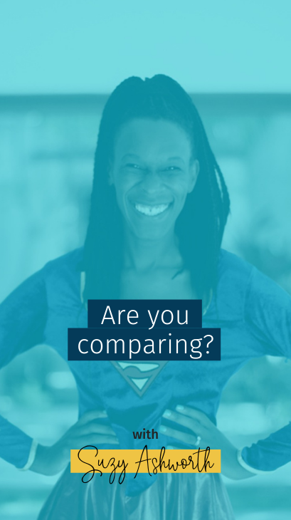 Are you comparing?